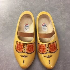 NWT Made in Holland Wooden Clogs EU 39
